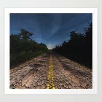The Reptilian Road Art Print