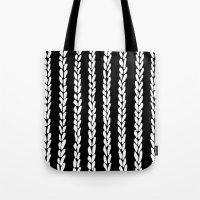 Knit 8 Tote Bag