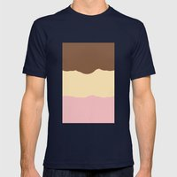 Neopolitan  Mens Fitted Tee Navy SMALL