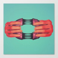 Here, Have A Donut.  Canvas Print