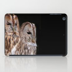 Tawny Owls in Nature iPad Case