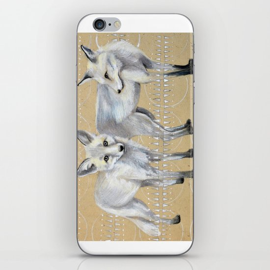 foxes iPhone & iPod Skin