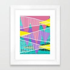 JungleParty Framed Art Print