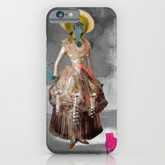 Goya -  Marquesa de Pontejos - Collage iPhone & iPod Case