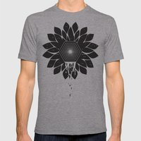 Tragedy Mens Fitted Tee Athletic Grey SMALL