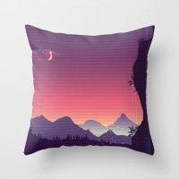 River Of Dreams Throw Pillow