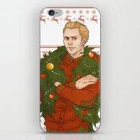 Very Merry Cullen iPhone & iPod Skin