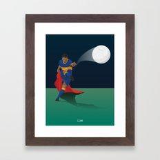 Juan Román Riquelme - El Torero  Framed Art Print