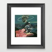 Midnight Ascent Framed Art Print