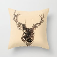 Cervus (Classic Version) Throw Pillow