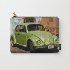 Green Classic Beetle Carry-All Pouch
