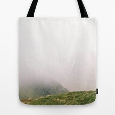 the Mist approaches Tote Bag