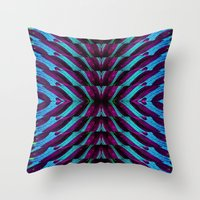 REFLECTED MARANTA 2 Throw Pillow