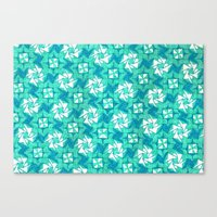 Canvas Print featuring Aquamarine  by Meaghan Monroe