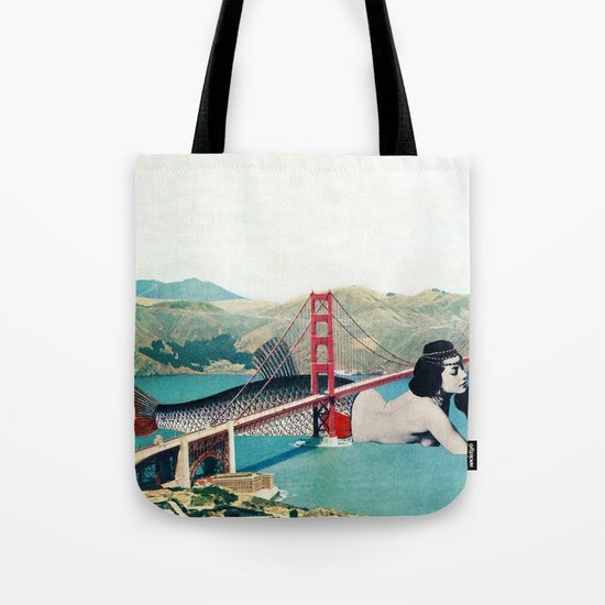 Mermaid Three Tote Bag