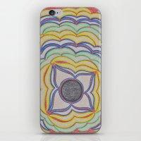 Center Circle 2 iPhone & iPod Skin