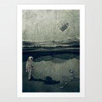 Anatomy Space I Art Print