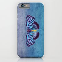 Butterflies And Burlap iPhone 6 Slim Case