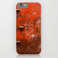iPhone & iPod Case featuring Red Door by Eyeshoot Photography
