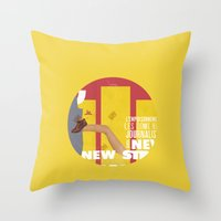 Strippers, Shirts & Shoe… Throw Pillow