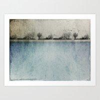 Winter Landscape - Susan… Art Print