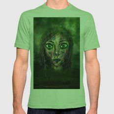 The Look Mens Fitted Tee Grass SMALL