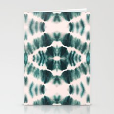 BOHEMIAN EMERALD SHIBORI Stationery Cards