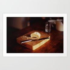 Pure Bread Art Print