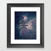 What Life Is All About -… Framed Art Print