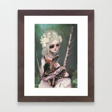 The day before the wedding Framed Art Print