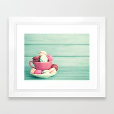 yummy blur Framed Art Print