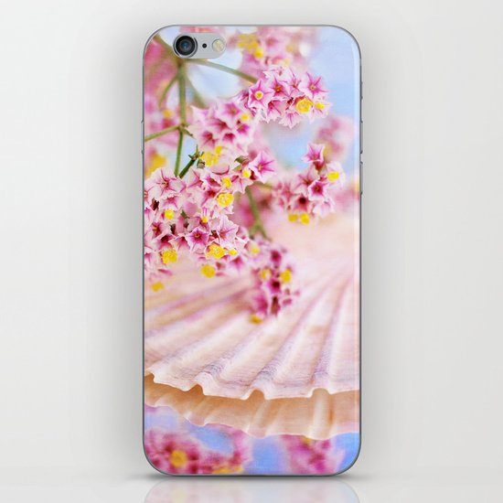 PINK SEA SHELL DREAM iPhone & iPod Skin