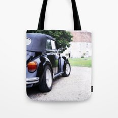 Vintage Volkswagon Beetle Tote Bag