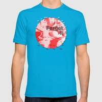 Forget It < The NO Serie&hellip; Mens Fitted Tee Teal SMALL