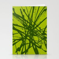 Bloom Green Stationery Cards