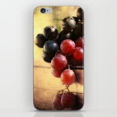 Grapes Montage iPhone & iPod Skin