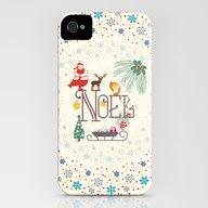 Christmas Noel iPhone (4, 4s) Slim Case