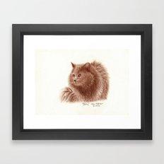 Behr Framed Art Print
