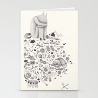 where the wild things are Stationery Cards