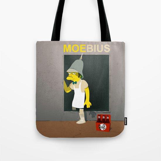 coupling up (accouplés) Moe-bius Tote Bag