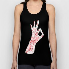 New A OK Unisex Tank Top
