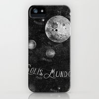 iPhone 5s & iPhone 5 Cases featuring Solis Mundo I by HappyMelvin