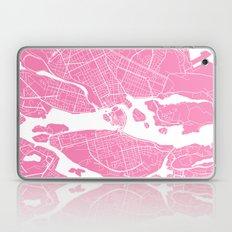 Stockholm Map Pink Laptop & iPad Skin