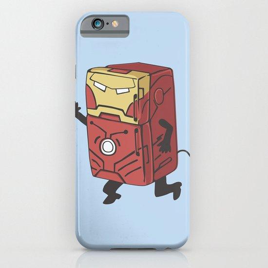 Refrig'r-Iron-Man iPhone & iPod Case