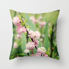 The Best Things in Life are Pink Throw Pillow