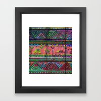 Cobertor Nativ Framed Art Print