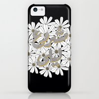 iPhone Cases featuring Mashrou' Leila Band Floral Logo by Deema Tabaza