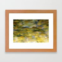 Abstract Green Framed Art Print