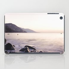 Water Washing Over the Rocks at Sunset, Waterville Beach, County Kerry, Ireland iPad Case