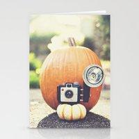 Big Pumpkin Stationery Cards